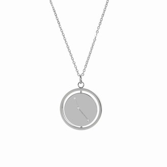 Victoria Emerson Aries Spinning Pendant Necklace