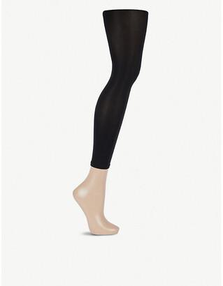 Wolford Capri 66 velvet high-rise leggings
