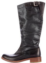 Jil Sander Round-Toe Knee-High Boots
