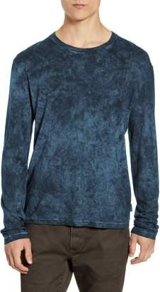 John Varvatos Denver Scrunch Dye Long Sleeve T-Shirt