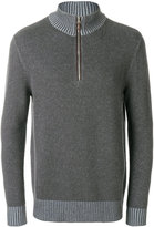 N.Peal half zip cashmere jumper