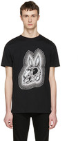 McQ by Alexander McQueen Black Rabbit Skull T-shirt