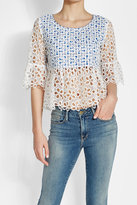 Anna Sui Eyelet Top