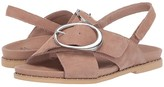 Earth Ambrosia (Dark Blush Soft Buck) Women's Sandals
