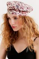 Urban Outfitters Printed Canvas Beret