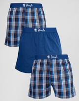 Pringle Woven Boxers In 3 Pack