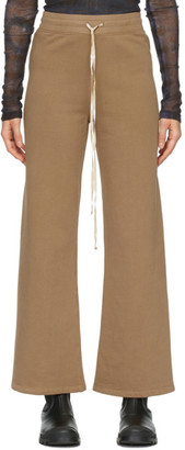 Raquel Allegra Tan Tracker Lounge Pants