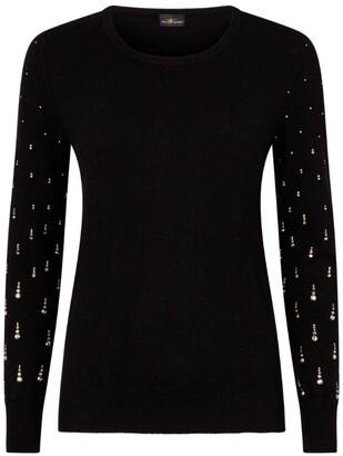 William Sharp Swarovski Embellished Cashmere Sweater