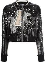 Aviu embroidered bomber jacket