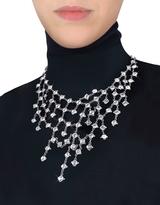 Ileana Creations Evatini Crystal Web Necklace
