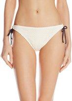Shoshanna Women's Crochet String Bikini Bottom