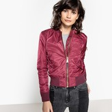 Schott Short Bomber Jacket