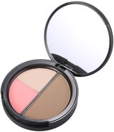 Anself Focallure Makeup Contour Concealer Powder Professional Highlighting Palette Face Cosmetic Tool With Mirror