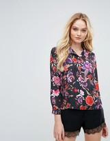 Love Floral Pajama Shirt