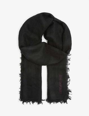 Zadig & Voltaire Nuage cashmere scarf