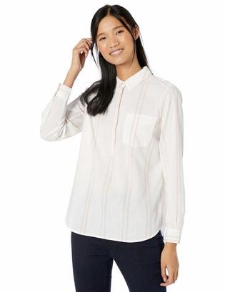 Goodthreads Amazon Brand Women's Washed Cotton Popover Shirt
