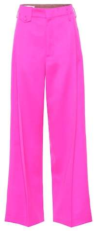 Golden Goose Wool and mohair-blend trousers
