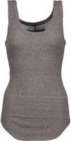 Enza Costa Ribbed stretch-knit tank