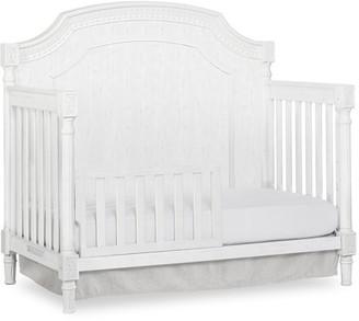 Dream On Me Evolur Julienne Toddler Rail ,Brush White