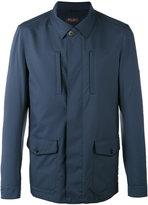 Loro Piana Concealed shirt jacket - men - Polyamide/Polyurethane/Cashmere/Goat Suede - S