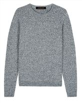 Textured Mouline Wool Sweater