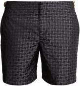 Orlebar Brown Bulldog X geometric-jacquard swim shorts