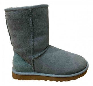 UGG Turquoise Shearling Ankle boots
