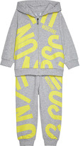 Moschino Logo cotton tracksuit 6-36 months