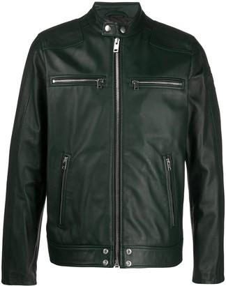 Diesel L-Boy zipped biker jacket