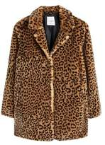 Violeta By Mango Violeta BY MANGO Animal print faux fur coat