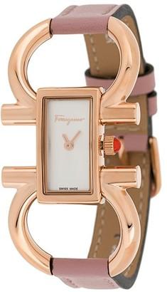 Salvatore Ferragamo Watches Double Gancini watch