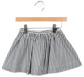 Bonpoint Girls' Striped A-Line Skirt
