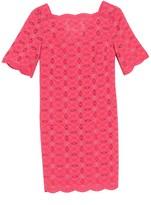 Lucite Eyelet Dress