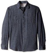 James Campbell Men's Rexon Flannel Long Sleeve Shirt