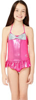 Betsey Johnson Bj Girls Sweet Bow 1 Piece Swimsuit