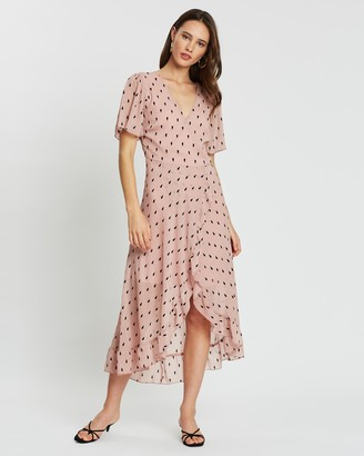 Atmos & Here Verona Wrap Dress