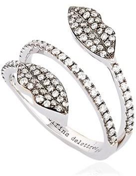 Delfina Delettrez Marry Me Double Lips Ring