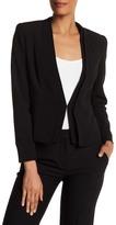 Catherine Catherine Malandrino Dual V-Neck Fully Lined Jacket