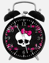 "Ikea New Monster High Alarm Desk Clock 3.75"" Room Decor Z01 Will Be a Nice Gift"