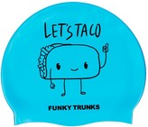 Funky Trunks Let's Taco Silicone Swim Cap