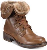 Bare Traps Henriette Lace-Up Combat Boots
