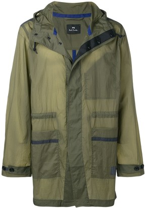 Paul Smith Dyed Parka Coat