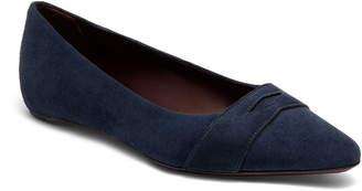 Bougeotte Suede Keeper Ballet Flats, Dark Blue
