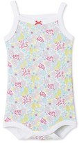 Petit Bateau Baby girl printed bodysuit with straps
