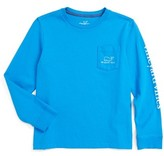 Vineyard Vines Toddler Boy's 'Vintage Whale' Graphic Long Sleeve T-Shirt