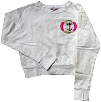 Olympia Le-Tan Olympia Le Tan White Cotton Knitwear