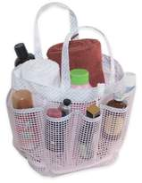 Bed Bath & Beyond Mesh Shower Tote in Pink Chevron