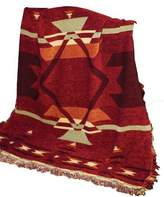 Manual Western Décor Collection 50 x 60-Inch Tapestry Throw