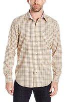 Nautica Men's Classic Fit Wrinkle Resistant Plaid Shirt