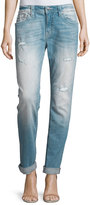 Miss Me Distressed Boyfriend Ankle Jeans, LT 99